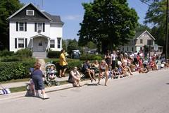Parade watchers (kielpubliclibrary) Tags: mothergoose kpl kielparade kplgetacluesummer