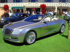 Mercedes-Benz Concept Ocean Drive at the Pebble Beach Concours d' Elegance 2007 (ikeya 1421) Tags: ocean beach car drive d pebble mercedesbenz concept concours 2007 elegance conceptcar pebblebeachconcoursdelegance mercedesbenzconceptoceandrive