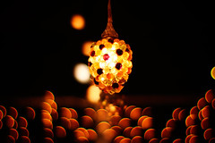 bubbling over (moaan) Tags: light lamp night digital 50mm cafe dof bokeh illuminations dream osaka dreamworld 2007 f095 explored canonf095 rd1s epsonrd1s canon50mmf095 bokehwhores gettyimagesjapanq1 gettyimagesjapanq2