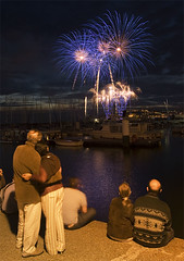 14th of July Fireworks in Le Havre