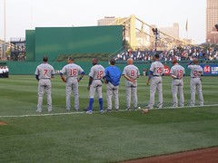 National Anthem (b24chicago) Tags: pittsburgh baseball pennsylvania pa anthem pittsburghpa derreklee aramisramirez mattmurton alfonsosoriano craigmonroe markderosa mikequade