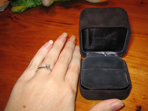 I got engaged!