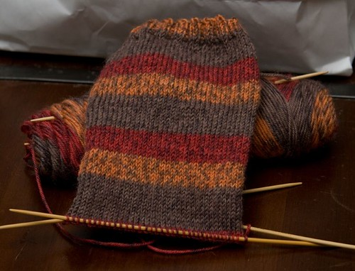 Autumn Stripes Sock