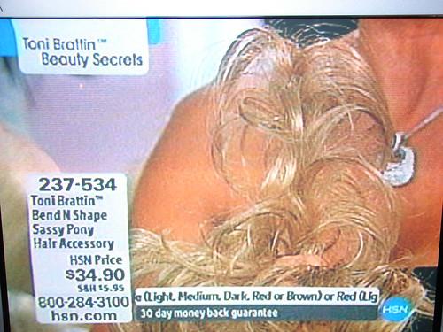 WTF?  SASSY PONY HAIR.