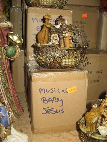 'Dear Musical Baby Jesus...'