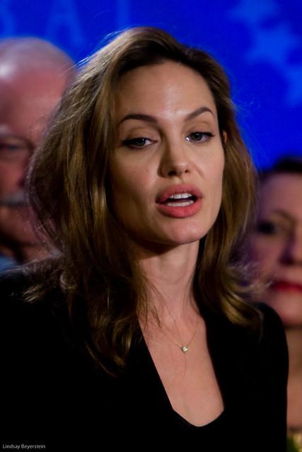 Angelina Jolie by Lindsay Beyerstein
