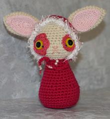 Amigurumi Bunny (cindysickler) Tags: cute rabbit bunny toy stuffed doll crochet softie amigurumi crocheted demonsterative