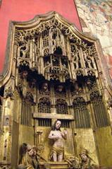 Paris - Latin Quarter - Musée national du Moyen Age - Retable de l'abbaye d'Averbode
