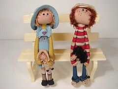 Fimo Dolls 1:12 Scale Miniature (MiniatureMadness) Tags: miniatures miniature doll dolls mini fimo handcrafted minis dollhouse roombox oneinchscale miniaturedoll 112scale fimodoll dollhouseminiature fimodolls handcraftedminiature 112scaleminiature