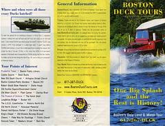 BOSTON DUCK TOURS 1
