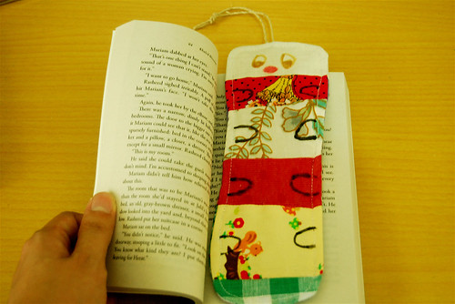 scrafaby worm bookmark