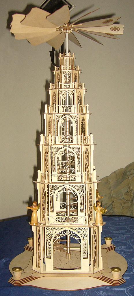 gotische Weihnachtspyramide Rene Hinsche 2
