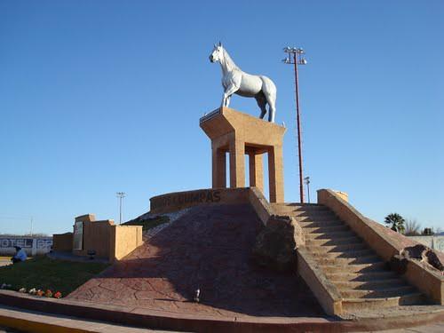 """Estatua """"El Moro de Cumpas"""""""