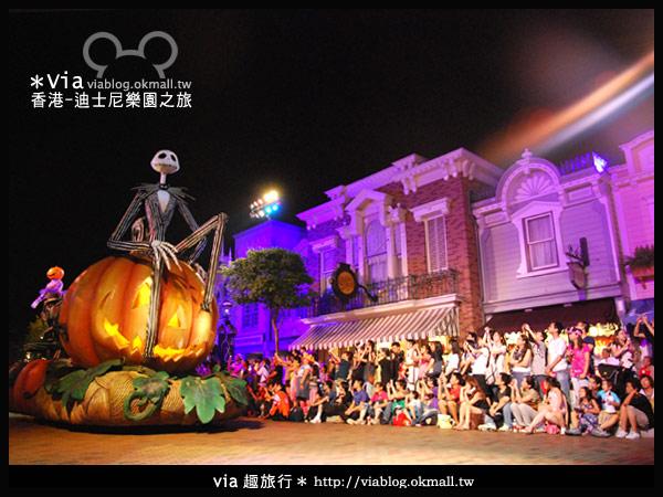 【香港旅遊】跟著via玩香港(2)~迪士尼萬聖節夜間遊行超精彩!5
