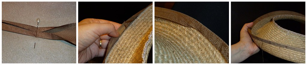 Adding a bias binding on edge of the brim