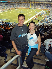 Dennis & Clare at Ford Field