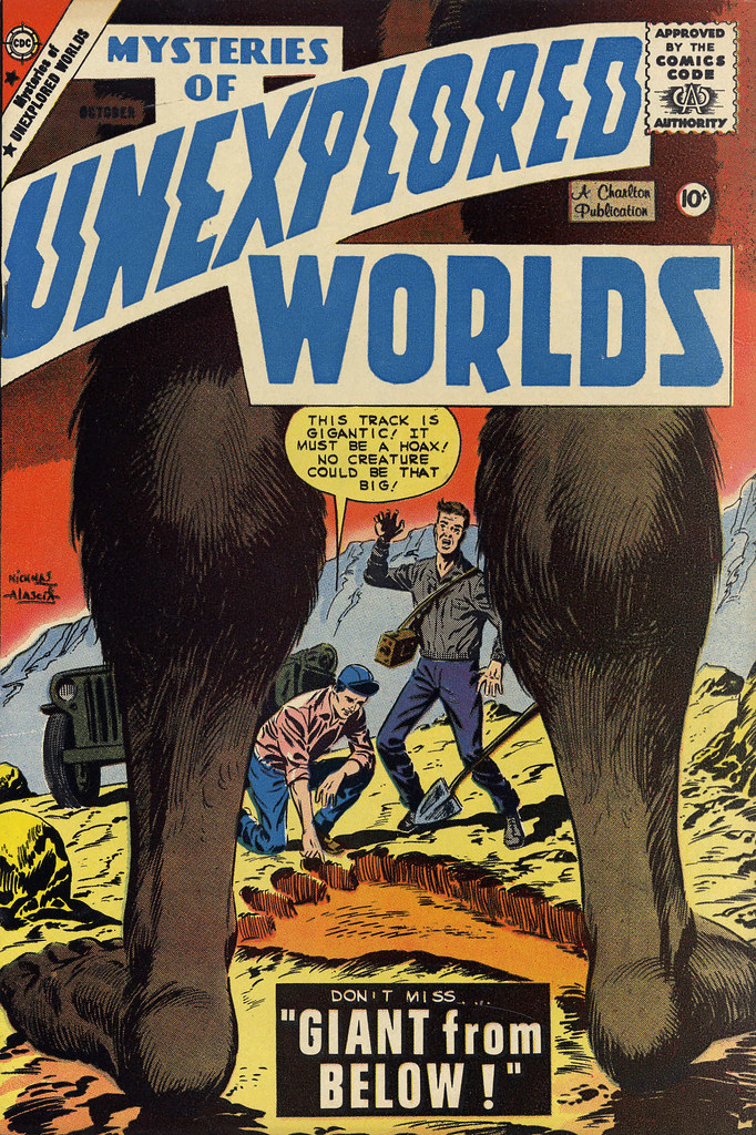 Mysteries of Unexplored Worlds #15 (Charlton, 1959)