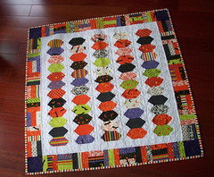 Joy Luck Schnibbles Quilt (oregonsurfers) Tags: halloween quilt moda schnibbles