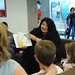 Volunteers read to families during the 4th annual Children's Reading Celebration & Young Authors Fair.