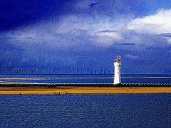 New Brighton Lighthouse (Snapshooter46) Tags: lighthouse newbrighton merseyside rivermersey