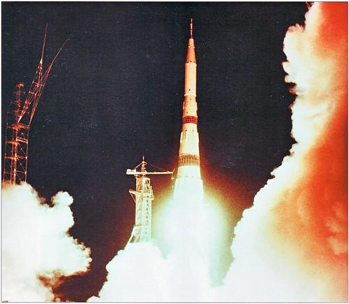 N1-L3 Moon Rocket Launch