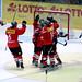 Auch die Schweizer Eishockey-Nationalmannschaft siegt.