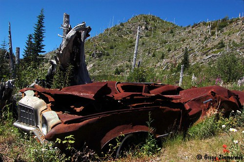 Miner's car