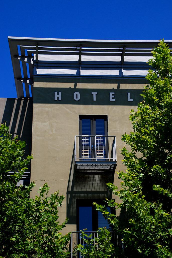 Healdsburg Hotel, California 2007