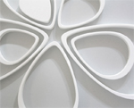 FOLD Wallter Teardrops wall applications
