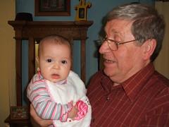 2007_08_12_12_Layla and grandpa (MissManda) Tags: baby cherub layla