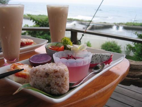 配海吃早餐