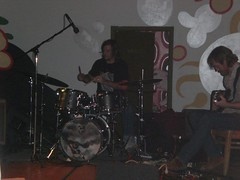 Band at the afterparty.