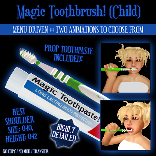Magic Toothbrush (Child)