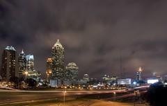 Midtown HDR (Wizum) Tags: city longexposure atlanta night lights nightshot midtown