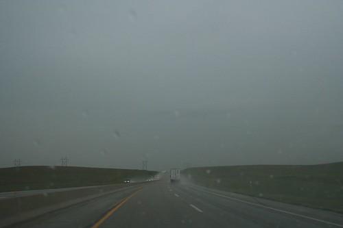 Rain on the Toll Road