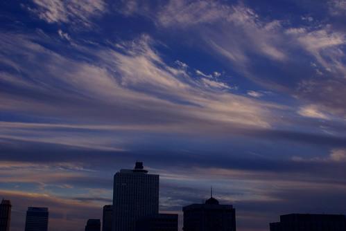 Sky over Memphis