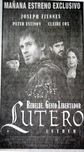 Lutero, la pelicula