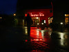 downtown (M Hildingh) Tags: street red cinema reflection rain night lights theatre walk culture bio jönköping hourofthediamondlight