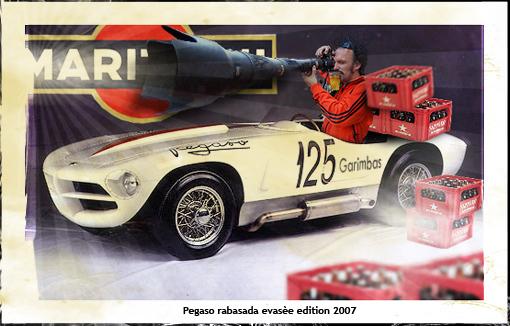 Pegaso rabasada evasèe edition 2007