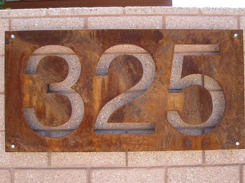 Rusty Numerals by kevinspencer