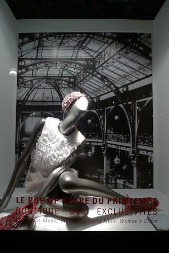 Vitrines Printemps - Histoire d'élégance - mai 2010