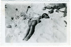 Snapshot: Prewar Germany---Fun At The Beach (mrwaterslide) Tags: old beach vintage germany relax found coast play antique balticsea baltic german northsea oldphoto vernacular avoid deny repress