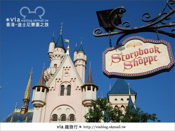 【香港自由行】跟著via玩香港(1)~爆走香港迪士尼樂園31