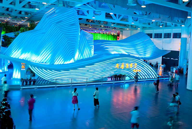 EXPO 2010; Inside China pavilion