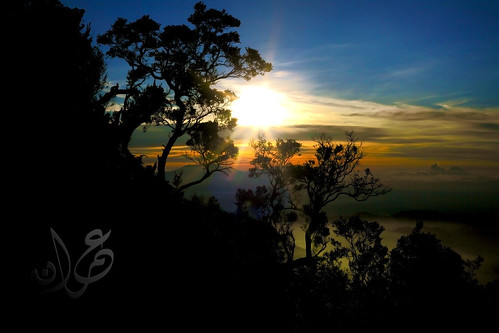 Sunrise from Mount Penanjakan