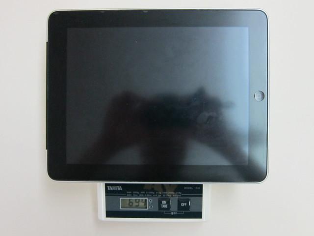 iPad Weight
