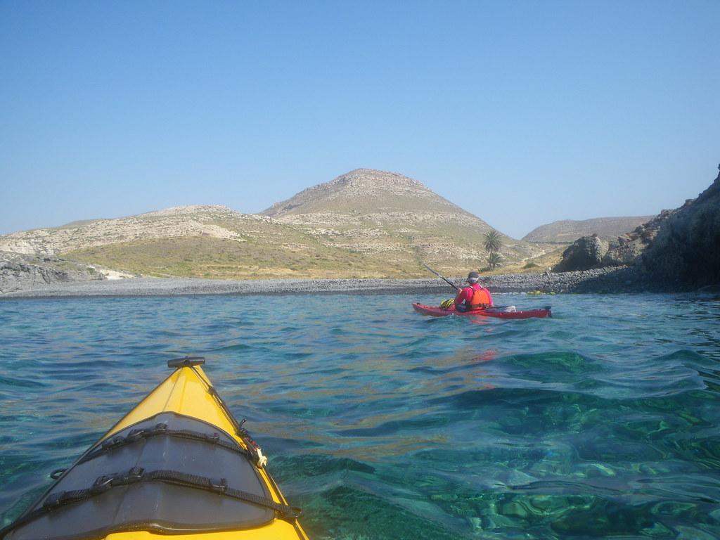 Cabo de Gata en kayak 363