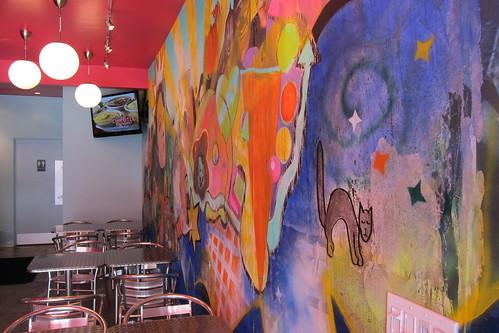 Frida Tacos: interior
