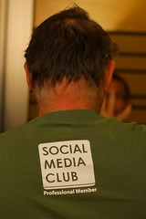 Social Media Club Tshirt (on Lee Hopkins)