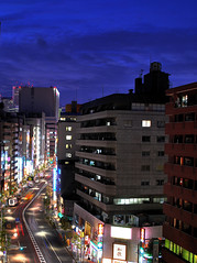 Shinjuku in HDR (Arutemu) Tags: street city travel urban panorama japan night asian japanese nikon asia cityscape view nightscape scenic scene nighttime  scenes japonesa japon japones japonais japonaise  tokyohdr